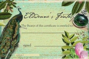 Gift Certificate for www.eldwenne.etsy.com