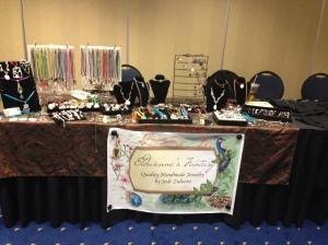Eldwenne's Fantasy's table - ready to rock!