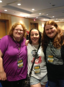 Megan, Lizzie, and Beth - these ladies were so sweet and I loved talking to them!