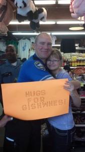 Hugs for GISHWHES!