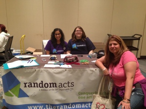 Random Acts is a non-profit organization that's aiming to conquer the world, one random act of kindness at a time.