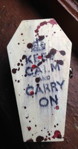 There's no way you can keep calm and carry on while watching an episode of SPN - but you can certainly try!