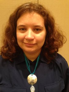 She wears it well - Melstiel wearing a custom-ordered I love Castiel necklace - LOVE IT!  One of my favorite pieces!
