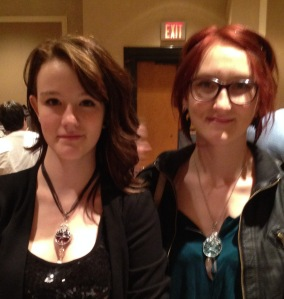 Angels and Demons - a couple of beauties representing Crowley and Cas!
