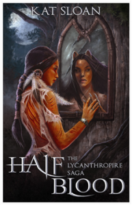 Kat Sloan's amazing book - Half Blood