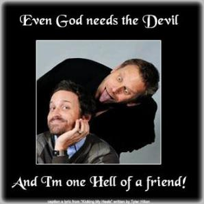 Who would've thunk that Chuck + Lucifer = adorable graphics! I LOVE Adina's work!