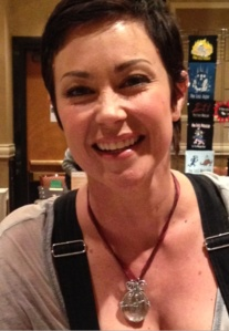 The beautiful Kim Rhodes!