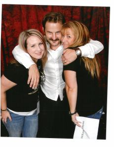 Ana Marie with Richard Speight Jr - lucky ladies!!