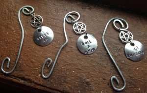 SPN Bookmarks made of galvanized steel and personalized for YOU at VegasCon!