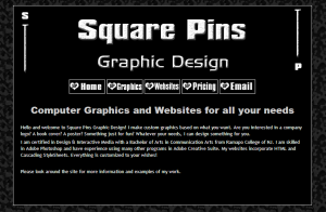 Adina's Graphic Design Biz - Square Pins! LOVE the designs, Adina!!