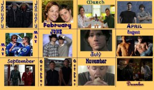 A Year of Winchesters - Adina knows how to pick 'em!!