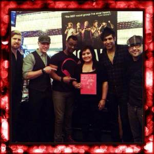 Brittany got the Vegas-based vocal group Mo5aic to create anti-bullying messages!
