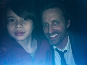Jade getting to meet Rob Benedict at Karaoke.  Rob is AMAZING - thank you!!