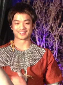 Osric - always a knight in shining armor