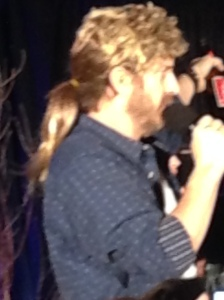 Richard Speight Jr - a man and his wig.