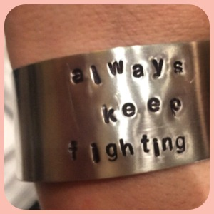 Always Keep Fighting - Jared Approved, SPNFamily Supported