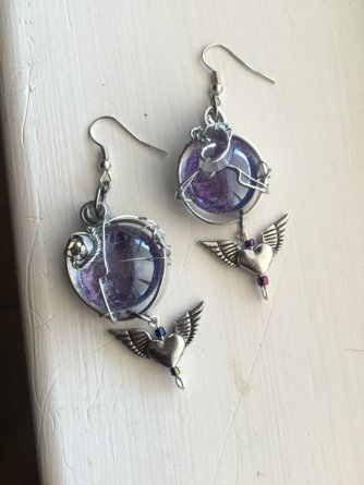 Sacrifice of Mary Winchester Earrings